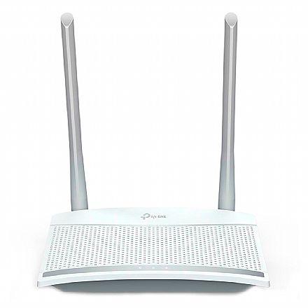 Roteador Wi-Fi TP-Link TL-WR820N - 300Mbps - 2 Antenas fixas de 5dBi