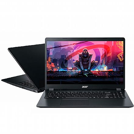 "Notebook Acer Aspire A315-42G-R6FZ - Tela 15.6"", Ryzen 5 3500U, 16GB, HD 1TB + SSD 240GB, Radeon™ 540X 2GB + Radeon™ Vega 8, Windows 10"