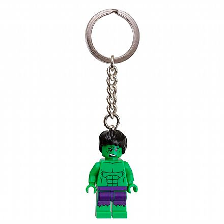 LEGO - Chaveiro - Marvel Super Heroes - The Hulk - 850814