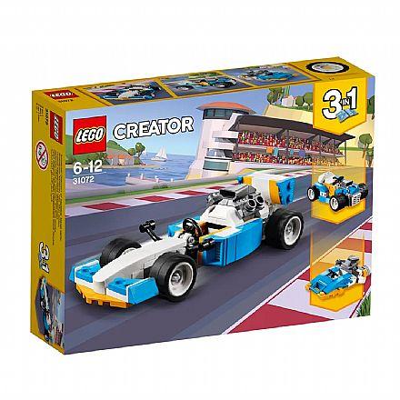 LEGO Creator - Modelo 3 em 1 - Motores de Corrida Radical - 31072