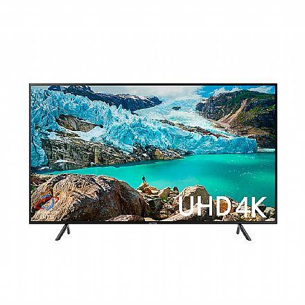"TV 50"" Samsung UN50RU7100 - Smart TV - 4K Ultra HD - HDR Premium - Wi-Fi e Bluetooth Integrado - HDMI / USB"