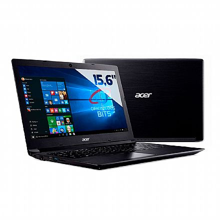 "Notebook Acer Aspire A315-53-52ZZ - Tela 15.6"", Intel i5 7200U, 8GB, HD 1TB, Windows 10"