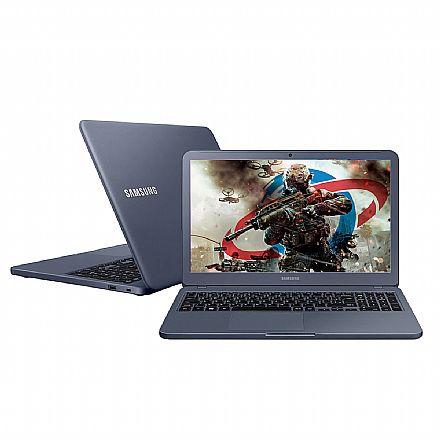 "Notebook Samsung Expert X40 - Tela 15.6"", Intel i5 8265U, 8GB, HD 1TB, GeForce MX110 2GB, Windows 10 - Titanium - NP350XBE-XD1BR"