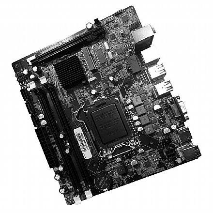 Placa Mãe BPC-H55M-V1 (LGA 1156 - DDR3 1600) Chipset Intel H55 - Micro ATX - OEM