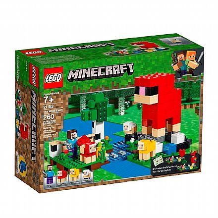 LEGO Minecraft - A Fazenda da Lã - 21153