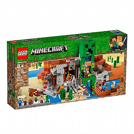 LEGO Minecraft - A Mina de Creeper - 21155