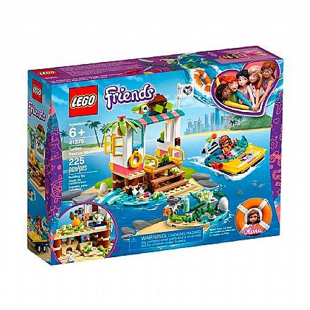 LEGO Friends - Missão de Resgate de Tartarugas - 41376