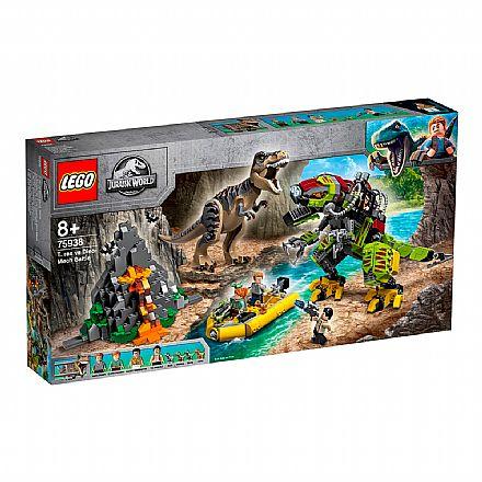 LEGO Jurassic World - T.Rex vs Robô Dinossauro - 75938