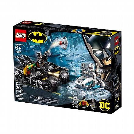 LEGO DC Super Heroes - Batmoto: Batalha com Senhor Frio - 76118