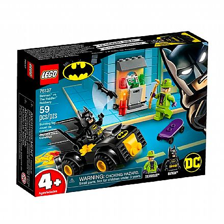 LEGO DC Super Heroes - Batman: Assalto do Charada - 76137