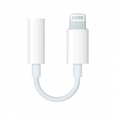 Adaptador Lightning para P2 Fêmea - para iPhone - *Necessário Conexão Bluetooth