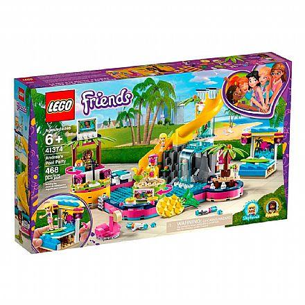LEGO Friends - A Festa na Piscina da Andrea - 41374