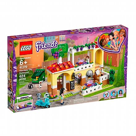 LEGO Friends - Restaurante da Cidade de Heartlake - 41379