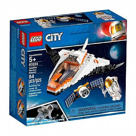 LEGO City - Missão de Assistência a Satélite - 60224