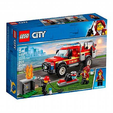 LEGO City - Caminhão do Chefe dos Bombeiros - 60231