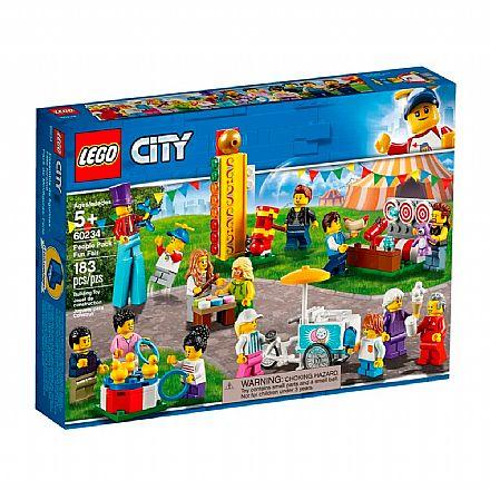 LEGO City - Pacote de Pessoas: Parque de Diversões - 60234