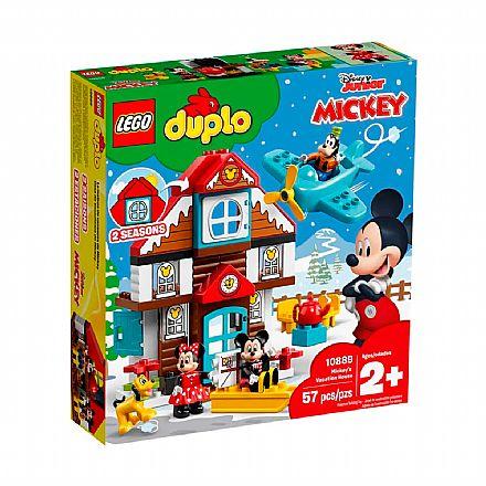 LEGO DUPLO - Casa de férias do Mickey - 10889