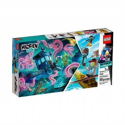 LEGO Hidden Side - Barco de Pesca de Camarão Naufragado - 70419