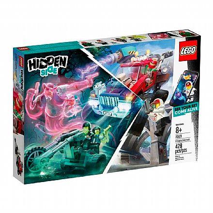 LEGO Hidden Side - Caminhão de Acrobacias do El Fuego - 70421