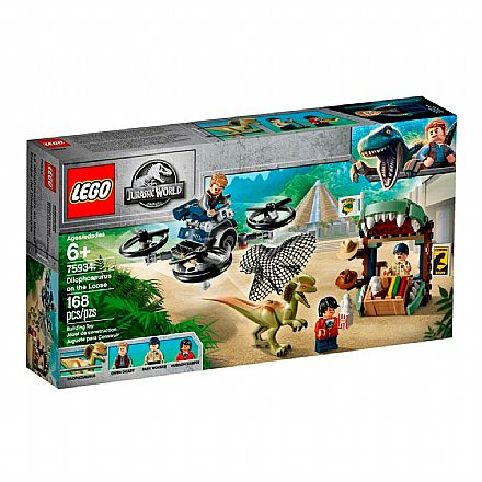 LEGO Jurassic World - Dilophosaurus à Solta - 75934