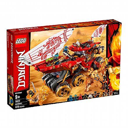 LEGO Ninjago - Recompensa da Terra - 70677