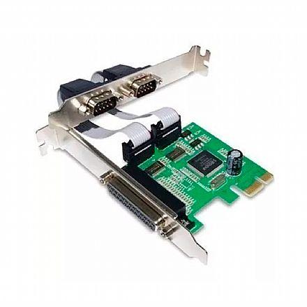 Placa PCI com 2 Portas Serial e 1 Paralela - Knup KP-T105