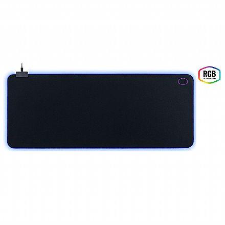 Mouse Pad Cooler Master Masteraccessory MP750 - com iluminação RGB - Extra Grande - 940 x 380 x 3 mm - MPA-MP750-XL
