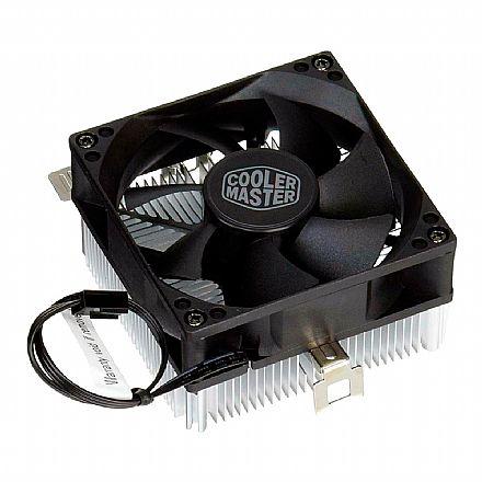 Cooler para AMD - Soquete AM4 / AM3+ / AM3 / AM2+ / AM2 / FM2+ / FM2 / FM1 - Cooler Master A30 - RH-A30-25FK-R1