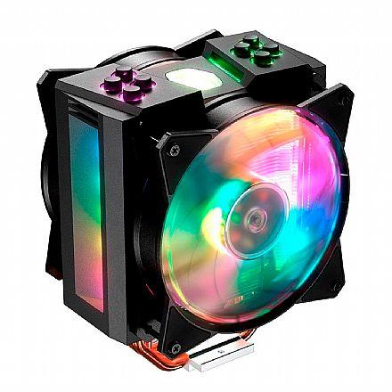 Cooler Master MasterAir MA410M - (AMD/Intel) - com LED RGB - MAM-T4PN-218PC-R1