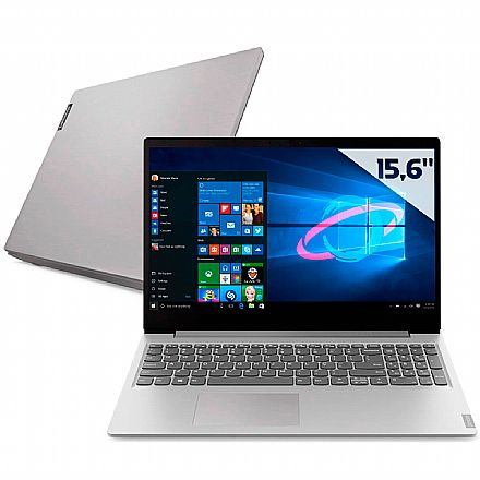 "Notebook Lenovo Ideapad S145 - Tela 15.6"", Intel i5 1035G1, 12GB, SSD 256GB, Windows 10 - 82DJ0003BR"
