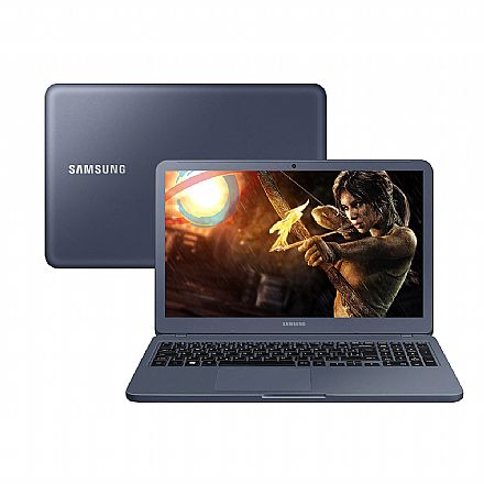 "Notebook Samsung Expert X50 - Tela 15.6"", Intel i7 8565U, 12GB, HD 1TB, GeForce MX110 2GB, Windows 10 - Titanium - NP350XBE-XH3BR"