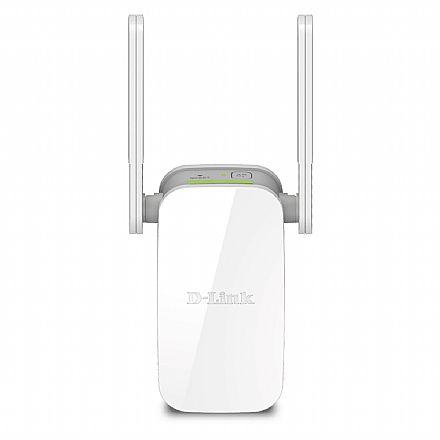 Extensor de Alcance Wi-Fi D-Link DAP-1610 AC1200 - Dual Band 2.4 GHz e 5 GHz - Repetidor de Sinal e Access Point - com Porta RJ45