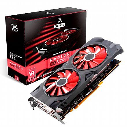 AMD Radeon RX 570 4GB GDDR5 256bits - RS XXX Edition OC+ - XFX RX-570P4DFD6