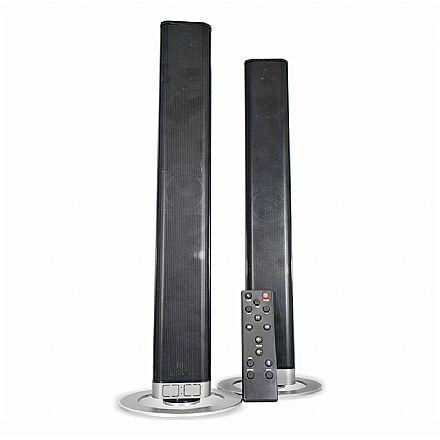 Soundbar 2.0 K-Mex Flex SB-1032 - 40W RMS - Conexão HDMI, Óptico, Bluetooth e USB