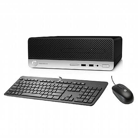 Computador HP ProDesk 400 G5 - Intel Core i5-8500, 4GB, HD 500GB + SSD 240 GB, Windows 10 Pro, Kit Teclado e Mouse - 5LA24LAAC4