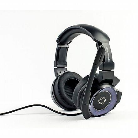 Headset Gamer Avermedia SonicWave 7.1 GH337 - Com Microfone - Conector USB - Preto