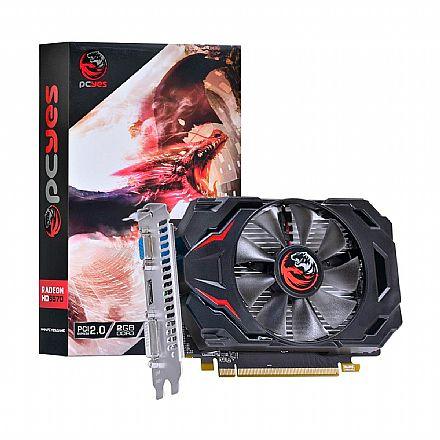 AMD Radeon HD 6570 2GB 128bits - PCYES - PJ657012802D3