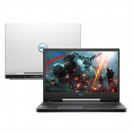 "Notebook Dell Gaming G5-5590-A30B - Tela 15.6"" Full HD IPS, Intel i7 9750H, 16GB, HD 1TB + SSD 256GB, GeForce GTX 1660Ti 6GB, Windows 10 - Branco"