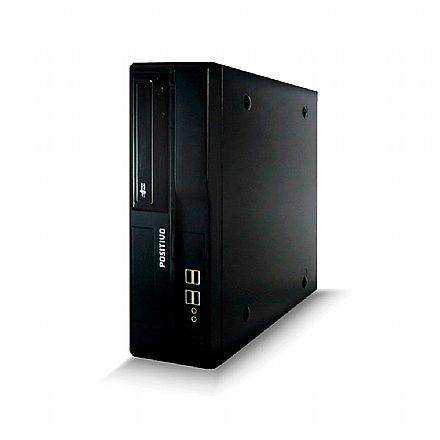 Computador Positivo Master D580 - Intel i5-4570, 4GB, HD 500GB, DVD, Windows 7 Pro - Garantia 1 ano - Seminovo