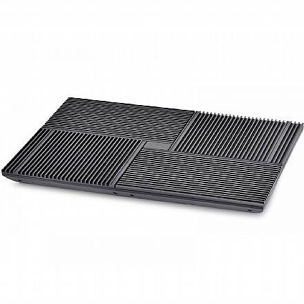 Suporte para Notebook Deepcool Multi Core X8 - 4 Ventoinhas - DP-N422-X8BK