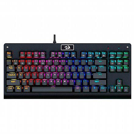 Teclado Mecânico Redragon Dark Avenger - RGB - Switch Outemu Blue - K568RGB-2 - ABNT2