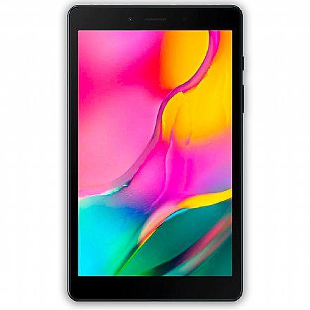"""Tablet Samsung Galaxy Tab A T295 - Tela 8"""", Android, 32GB, Quad-Core, Wi-Fi + 4G - SM-T295N - Preto"""
