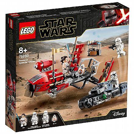 LEGO Star Wars - Perseguicao de Speeder de Pasaana - 75250