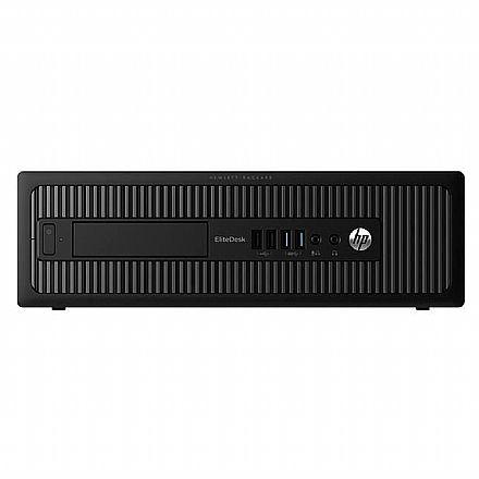 Computador HP EliteDesk 800 G1 - Intel Core i7-4770, 16GB, SSD 240GB, Windows 10 - Garantia 1 ano - Seminovo