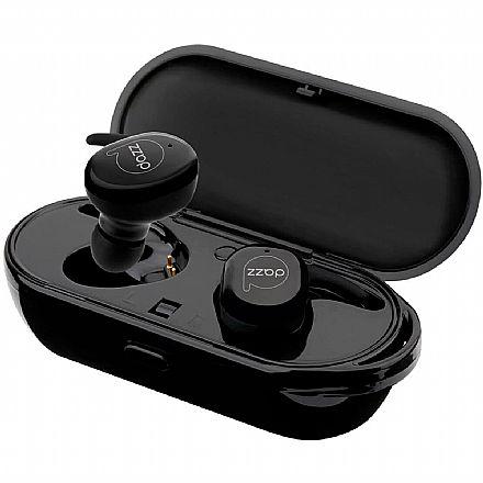 Fone de Ouvido Earbud DAZZ Earbud Prodigy - com Microfone - com Case Carregador - Preto - 6013246
