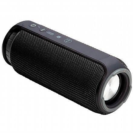 Caixa de Som Portátil Dazz Hobby - Bluetooth - Resistente a Respingos - 24W RMS - Entrada Micro USB - 6014754 - Preta