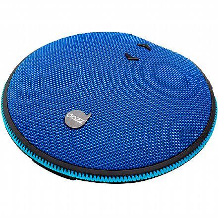 Caixa de Som Portátil Dazz Versality - Bluetooth - Alça Elástica - 7W RMS - Entrada Micro USB - 6014721 - Azul