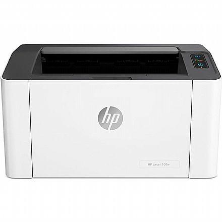 Impressora HP LaserJet 107W - USB, Wi-Fi - 110V - 4ZB78A