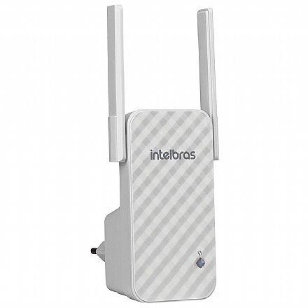 Extensor de Alcance Wi-Fi Intelbras IWE 3001 - 300Mbps - Repetidor de Sinal - com 2 Antenas