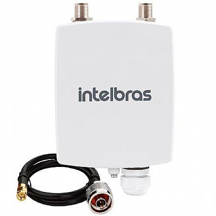 BaseStation Intelbras APC 5A - 5 GHz - 1 porta PoE 10/100Mbps - Throughput TCP efetivo de até 180Mbps - compatível com a maioria das antenas